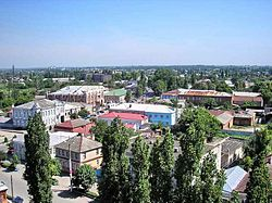 View of central Buturlinovka