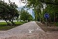Велодоріжка в парку ім.Чекмана.jpg