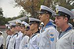 В українських ВМС після 7-річної перерви відновлено катерну практику майбутніх офіцерів із заходами до іноземних портів (30044136301).jpg