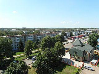 Town in Tula Oblast, Russia