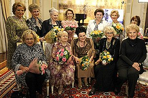 MOSCOW. Informal function honouring Lyudmila Z...