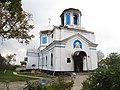 Дзвіниця Миколаївської церкви (ШАбо) після пожежі.jpg