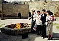 Крепость огнепоклонников. Азербайджан. 2000. Члены делегации из Башкортостана.jpg