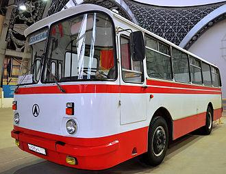 Automotive industry in Ukraine - LAZ-695N Lviv (1976-2002)
