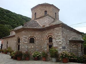 Evangelistria Monastery, Skiathos - Catholicon of the Evangelistria Monastery