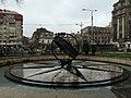 Монумент Нулевой километр в Бухаресте (Бухарест, Румыния, март 2015).JPG