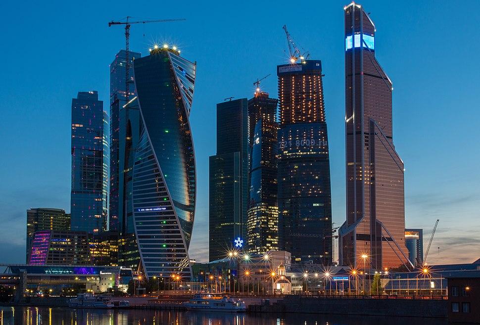 Московский международный деловой центр «Москва-Сити» 14.07.2014