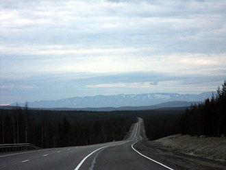 R21 highway (Russia) - Image: М 18