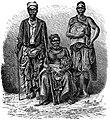 Народоведение. Т. I - Начальник деревни на берегу Лоанго, с женою и сановником.jpg