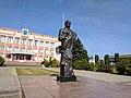 Пам'ятник поету Т. Г. Шевченку смт Млинів 02.jpg