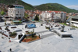Strumica Town in Strumica Municipality, North Macedonia