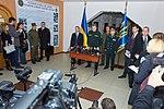 Президент України Петро Порошенко привітав молодих офіцерів з випуском 038 1 (16325681583).jpg