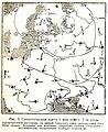 Природа и люди 22 Синоптическая карта 1915 год.jpg