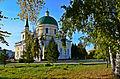 Самый старый храм в Омске, единственный уцелевший в годы советской власти войсковой храм города..jpg
