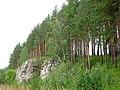 Скала на изгибе Чусовой (Rosk near Chusovaya river) - panoramio.jpg