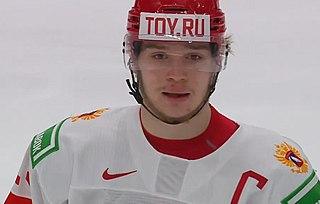 Vasily Podkolzin Russian ice hockey player