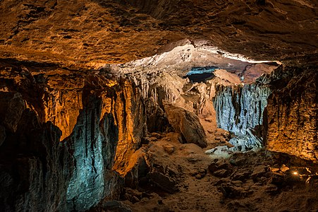 Cave Yurievskaya, Tatarstan, Russia