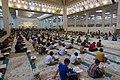 عکس های مراسم ترتیل خوانی یا جزء خوانی یا قرائت قرآن در ایام ماه رمضان در حرم فاطمه معصومه در شهر قم 23.jpg