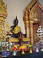 หลวงพ่อดำ วัดตะคร้ำเอน Luang Phor Dam (Black Buddha Image) in Takhram En Temple - panoramio (2).jpg