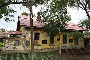 Ang'angxi District - Russian-style house
