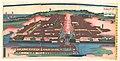 神奈川横浜港崎町遊女屋光景-View of the Miyozaki Brothel District in Yokohama, Kanagawa (Kanagwa Yokohama Miyozaki machi yūjoya kōkei) MET DP148032.jpg