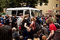 -Ohlauer Räumung - Protest 27.06.14 -- Lausitzer - Reichenberger Straße (14549374643).jpg