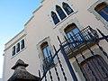 011 Casa Niubò (Mollerussa), façana c. Prat de la Riba.JPG