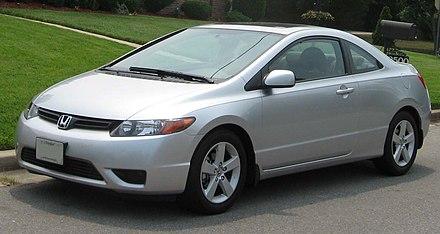 2006 honda civic lx coupe front bumper