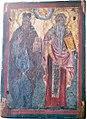 06 Saint Dionysus of Olympus and Saint Charalambos Icon in Assumption of Mary Church in Agios Vasileios.jpg