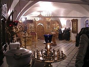 Kliros - Kliros in Church of St. John the Baptist, Yaroslavl, Russia.