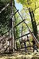 09 Rozmberk Jakobinka symbolicke zahajeni stavby Cekanova Joura vytahuji zavazi.jpg