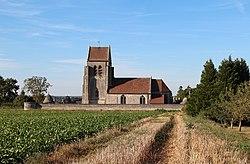 0 Croutoy - L'église Notre Dame et son cimetière fortifié (1).JPG