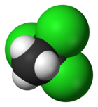 Spac-satiga modelo de 1,1, 1-trikloroetane