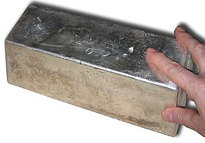 Precious metal - 1,000 oz silver bar