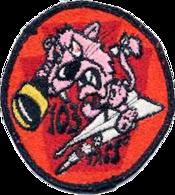 103d Tactical Air Support Squadron - Emblem