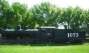 1073 Santa Fe Train