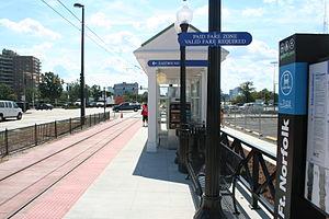 EVMC / Fort Norfolk station - Image: 110824 A HS946 050