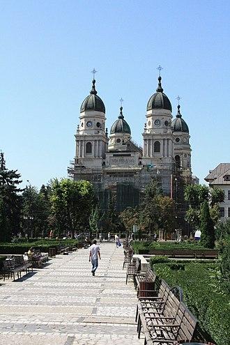Metropolis of Moldavia and Bukovina - Metropolitan Cathedral in Iași