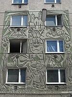 1160 Neulerchenfelder Straße 10 - Wandrelief Gründung der Gemeinde Neulerchenfeld IMG 3110.jpg