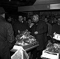 13.12.1966. L. Bazerque inaugure le marché des Carmes. (1966) - 53Fi3221.jpg