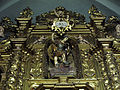 134 Sant Pere de Terrassa, retaule de Sant Valentí, imatge de sant Miquel.JPG