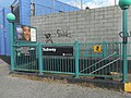 138th Street-Grand Concourse; IRT Jerome NE Entrance; Side View.jpg