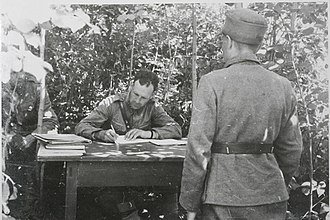 Drumhead court-martial - The drumhead court-martial of the Finnish 15th Brigade in July 1944