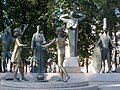 15. Москва - Болотная площадь - Сквер на Болотной площади 3 - 26.07.2014.jpg