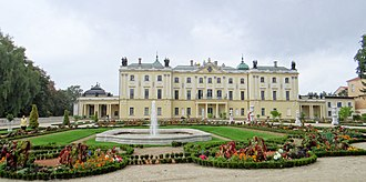Branicki Palace, Białystok - View of the Branicki Palace Gardens