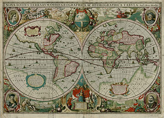 Darlington Collection - 1630 map by Hendrik Hondius I that is part of the Darlington Digital Library