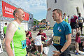 173rd Airborne paratroopers race through Vilnius, Lithuania (14302515083).jpg