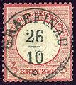 1872 Reich 3kr Mi25 Graefinau.jpg