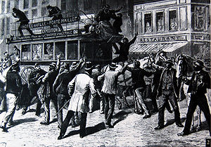 Paris in the Belle Époque - A transit strike in 1891