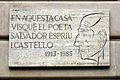 18 Aquí visqué Salvador Espriu, pg. de Gràcia.jpg